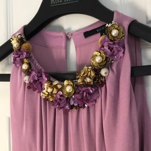gucci lavender dress